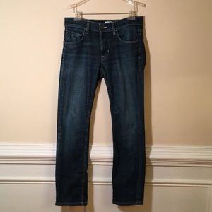 Hudson Size 31 Byron Five Pocket Straight